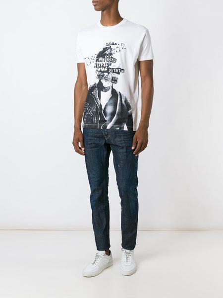DSQUARED2  Graphic Dan Fit Tee - 2