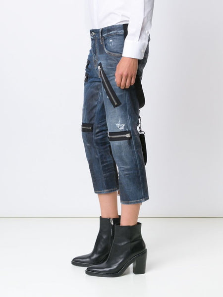 DSQUARED2  Zipper Cool Girl Jean - 3