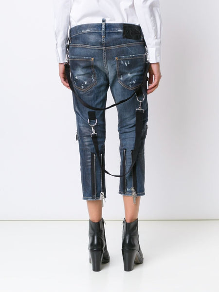 DSQUARED2  Zipper Cool Girl Jean - 5