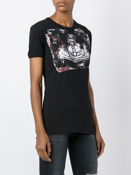 VIVIENNE WESTWOOD ANGLOMANIA  Orb Block T-Shirt - 3