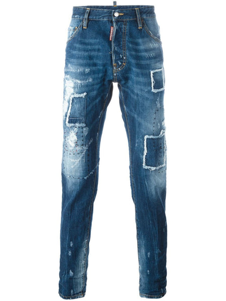 DSQUARED2  Ripped Patch Cool Guy Jean - 1