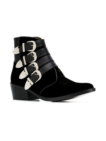 Limited Edition Velvet Ankle Boot