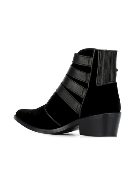 TOGA PULLA  Limited Edition Velvet Ankle Boot - 3
