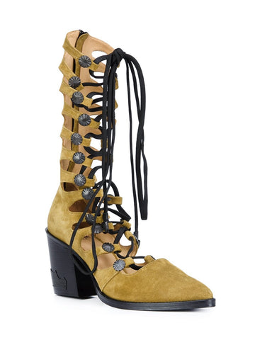 Fossil Suede Gladiator Boot