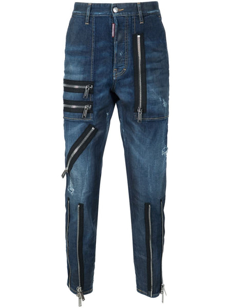 DSQUARED2  Zipper Jean - 1