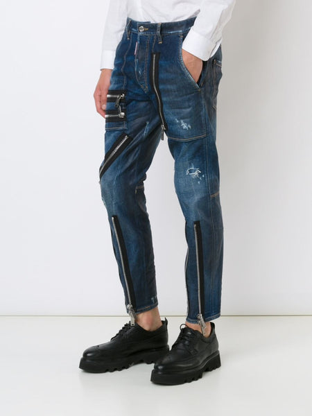 DSQUARED2  Zipper Jean - 3