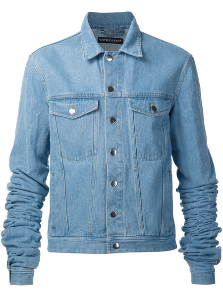 Y/PROJECT  Extended Sleeve Denim Jacket - 1