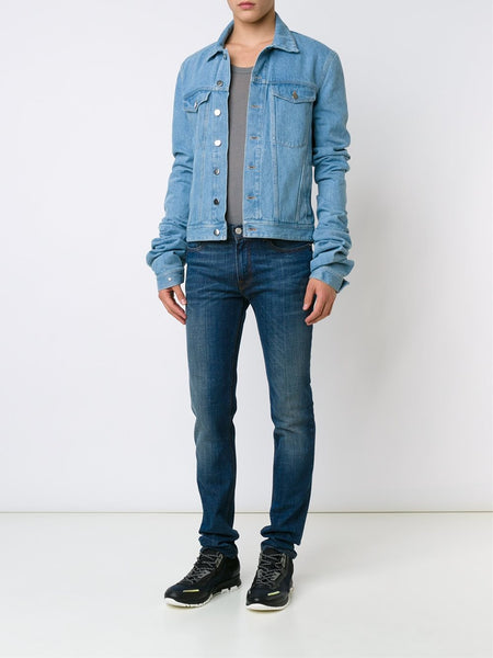 Y/PROJECT  Extended Sleeve Denim Jacket - 2