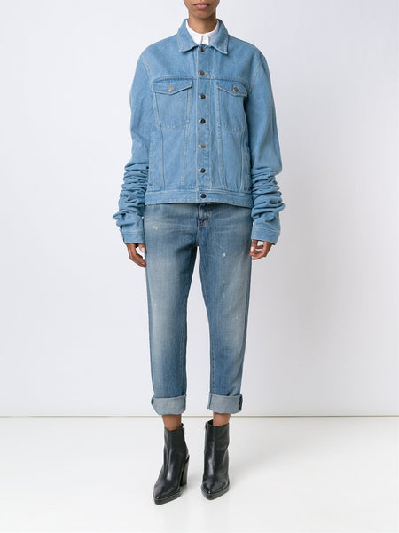 Y/PROJECT  Extended Sleeve Denim Jacket - 3