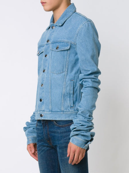 Y/PROJECT  Extended Sleeve Denim Jacket - 4