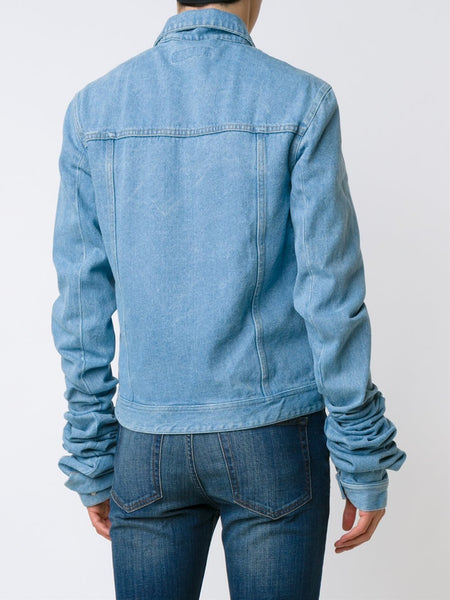 Y/PROJECT  Extended Sleeve Denim Jacket - 5