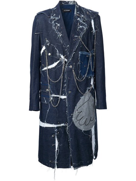ICOSAE  Jean Couture Coat - EXCLUSIVE - 1