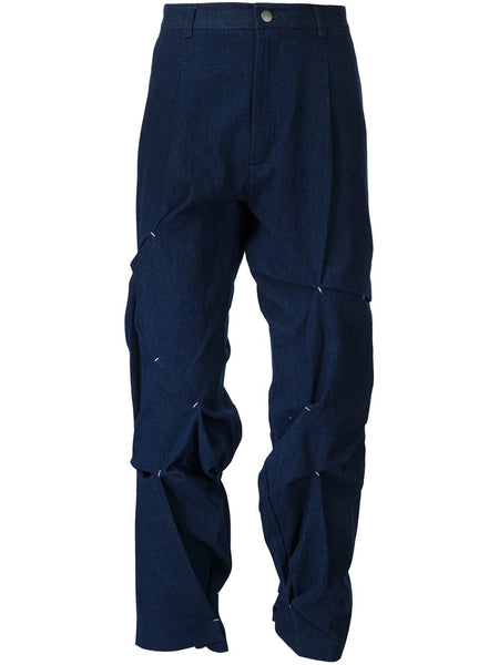 ICOSAE  Folded And Stitch Trousers - 1