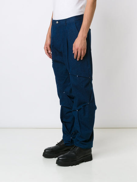 ICOSAE  Folded And Stitch Trousers - 3