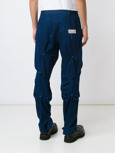 ICOSAE  Folded And Stitch Trousers - 4