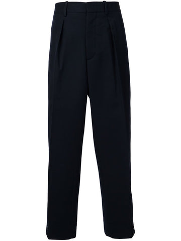 Front-Pleat Trousers