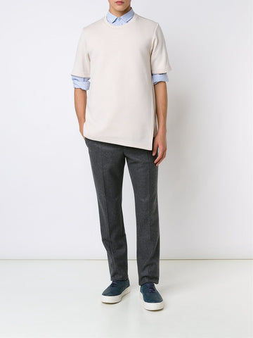 Opened Side Sweat-Tee