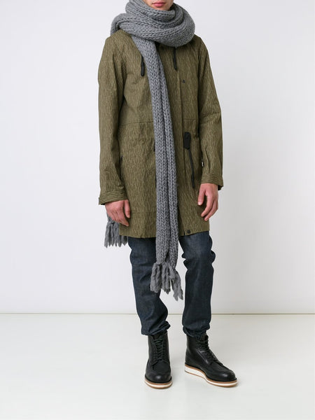 CHRISTOPHER RAEBURN  Hand-Knit Oversized Scarf - 2