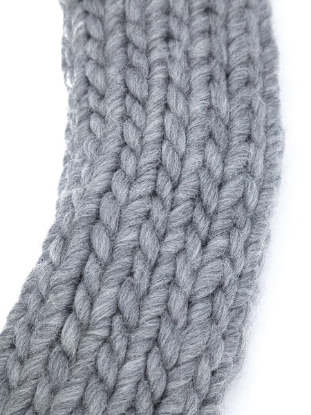 CHRISTOPHER RAEBURN  Hand-Knit Oversized Scarf - 3