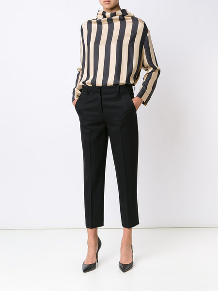 VIVIENNE WESTWOOD ANGLOMANIA  Striped Fold Blouse - 2