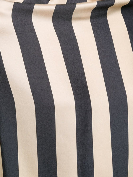 VIVIENNE WESTWOOD ANGLOMANIA  Striped Fold Blouse - 5