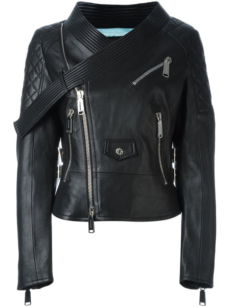 DSQUARED2  Miiko Leather Kiodo Jacket - 1