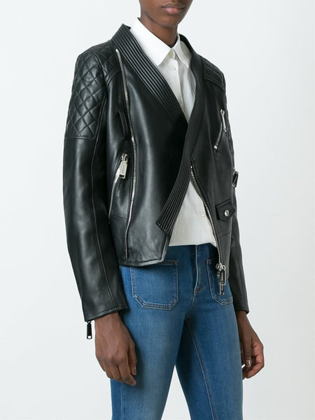 DSQUARED2  Miiko Leather Kiodo Jacket - 3