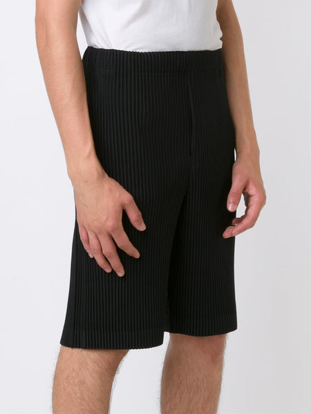 HOMME PLISSÉ  Pleated Shorts - 3
