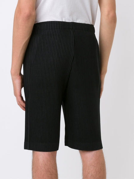 HOMME PLISSÉ  Pleated Shorts - 4