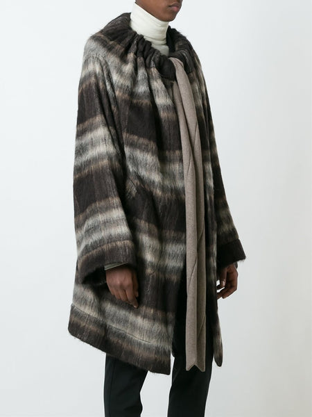 VIVIENNE WESTWOOD ANGLOMANIA  Blanket Cape Coat - 3