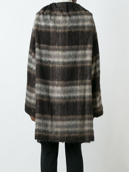 VIVIENNE WESTWOOD ANGLOMANIA  Blanket Cape Coat - 4