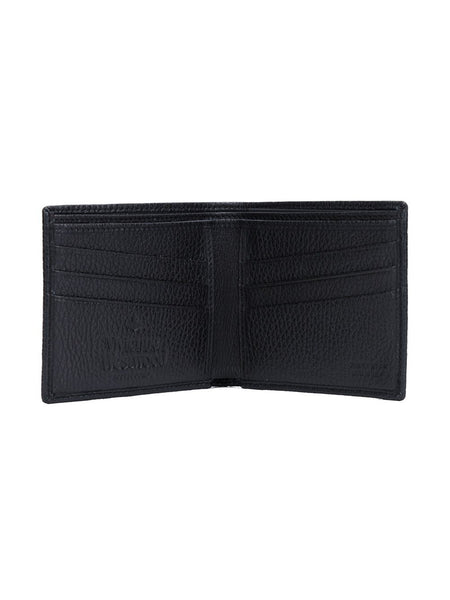 VIVIENNE WESTWOOD  Leather Fold Wallet - 3