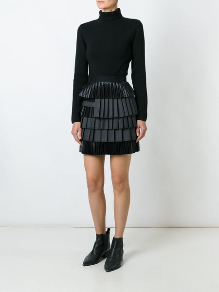 DSQUARED2  Layered Pleated Skirt - 2