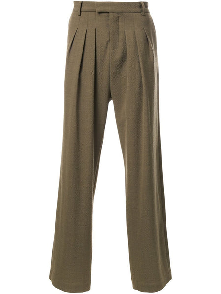 STRATEAS CARLUCCI  Tunnel Pleat Trousers - 1