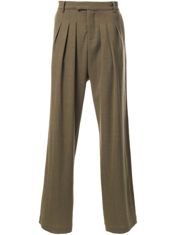Tunnel Pleat Trousers