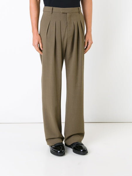 STRATEAS CARLUCCI  Tunnel Pleat Trousers - 3