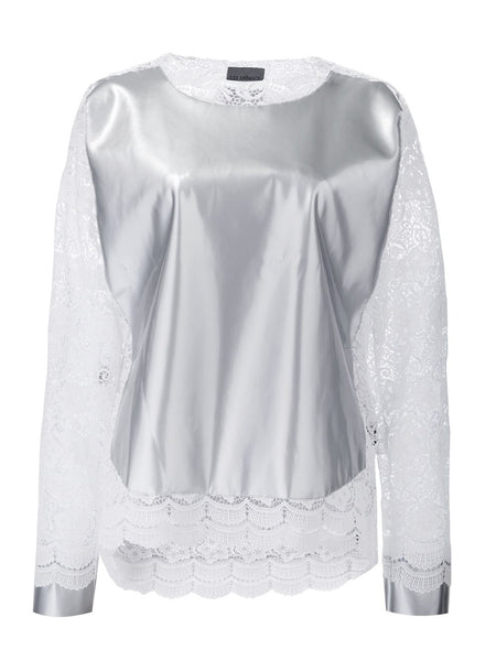 LES ANIMAUX  Paneled Top - 1