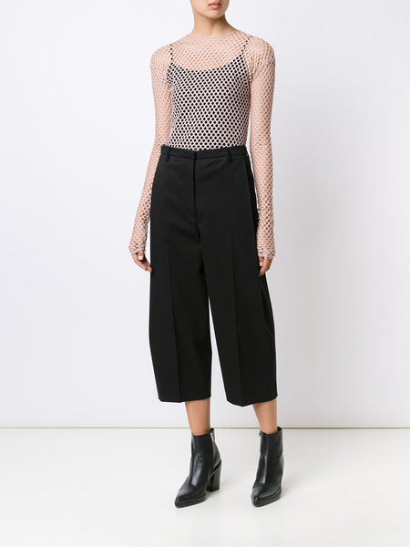 LES ANIMAUX  Stretch Mesh Top - 2