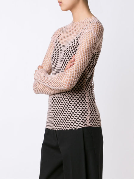 LES ANIMAUX  Stretch Mesh Top - 3