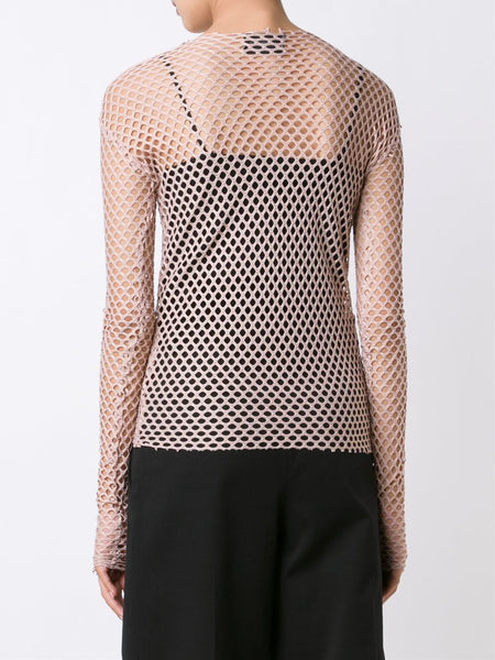 LES ANIMAUX  Stretch Mesh Top - 4