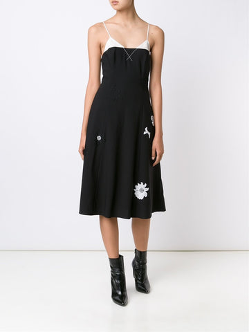 Dante Dress With Lace Appliqués