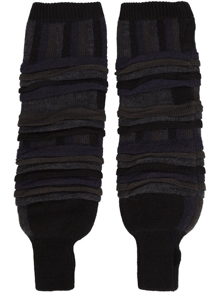 ISSEY MIYAKE MEN  Tucked Jacquard Arm Warmers - 1