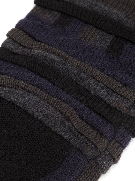 ISSEY MIYAKE MEN  Tucked Jacquard Arm Warmers - 2
