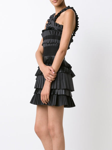 DSQUARED2  Layer Pleated Dress - 3