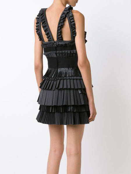 DSQUARED2  Layer Pleated Dress - 4
