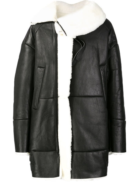 JUUN.J  Shearling Coat - 1