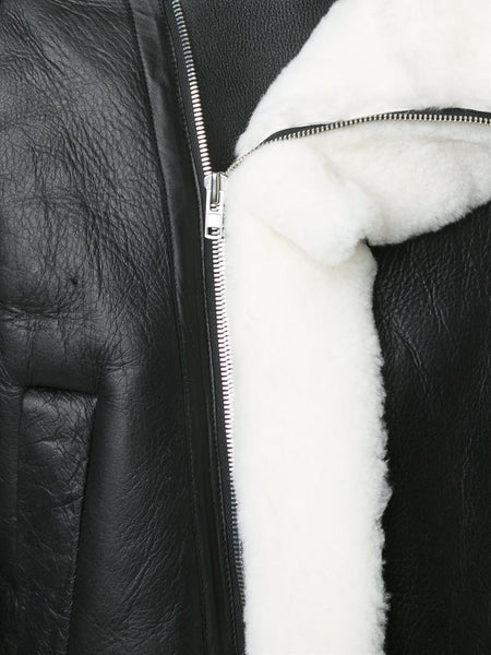 JUUN.J  Shearling Coat - 5