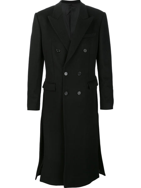 JUUN.J  Long Tailored Wool Coat - 1