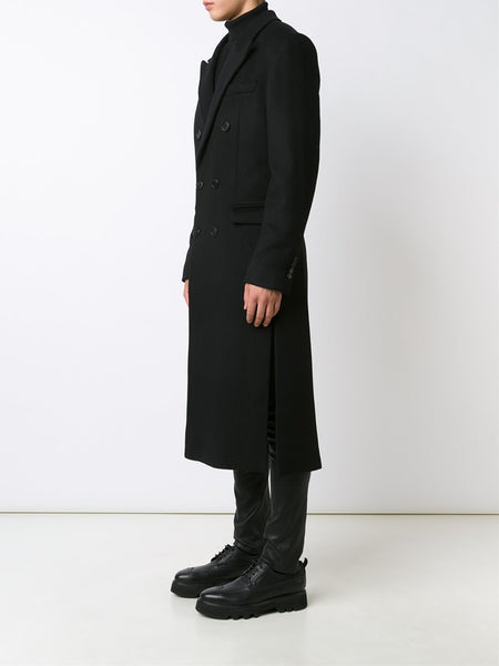 JUUN.J  Long Tailored Wool Coat - 3
