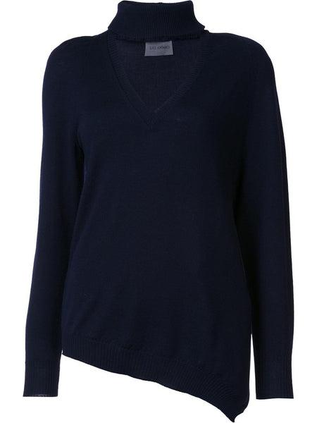 LES ANIMAUX  Polo V-Neck Sweater - 1